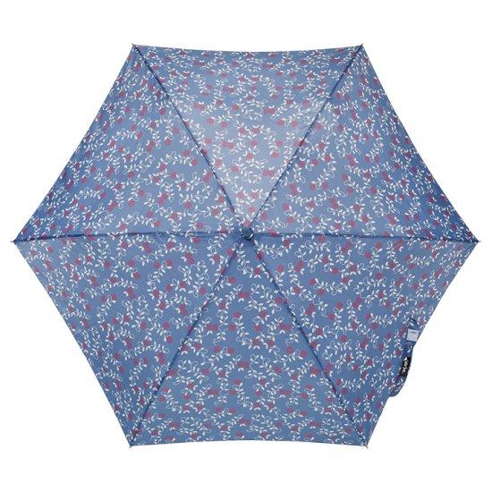 【waterfront】折りたたみ傘 晴雨兼用傘 軽量140g レディース傘 ペン細 野バラUV ウォーターフロント シューズセレクション