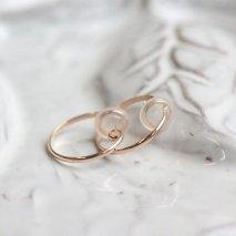 Hoop Earring | K10YG