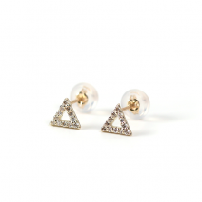 Diamond Triangle Pierce | K10YG