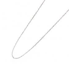 White Gold (Silver Color) Chain 40cm | K10WG
