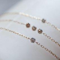 Nudy Diamond Bracelet | K10YG