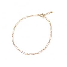 Fancy Link Chain Bracelet | K10YG