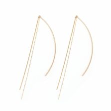 Gold Chain Threader | K10YG