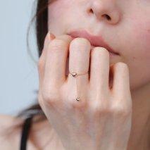 Heart Chain Ring | K18YG/PG