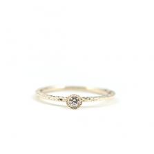 Round Diamond Ring | K10YG