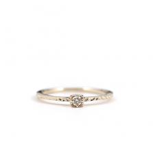 Square Diamond Ring | K10YG