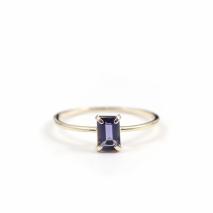 Iolite Ring | K10YG