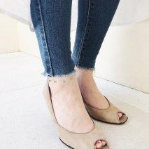 Turquoise Anklet | K10YG