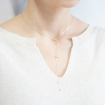 Opal & Diamond Necklace | K10YG