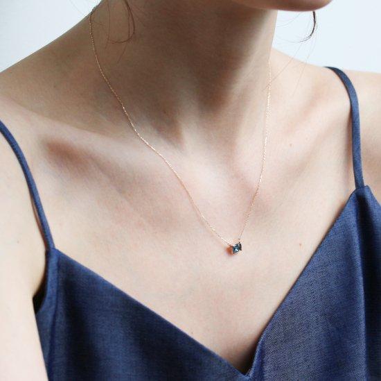 London Blue Topaz Necklace | K10YG