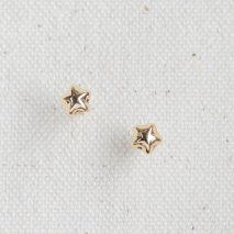 Star Motif Pierce | K18YG