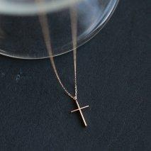 Cross Necklace | K10YG