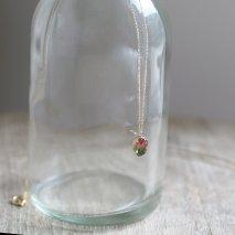 Gradation Crystal Necklace | K10YG