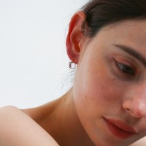 Cabochon Earring | K10YG