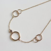 Round Diamond Bracelet | K10YG