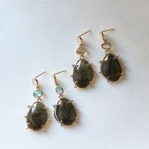 Labradorite & Crystal Pierce