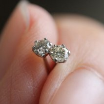 Diamond Pierce 0.2ct | Pt900