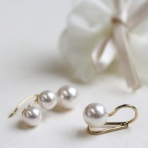 Pearl Ear Cuff 【2set】