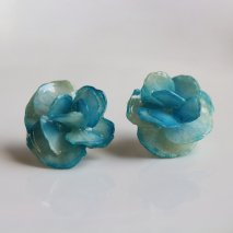 Compound Hydrangea Blue Flower  Pierce [TG]