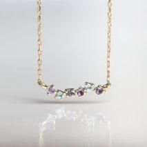 Blue Stone Necklace | K10YG