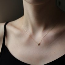 Ribbon Necklace | K10YG〈Web限定〉