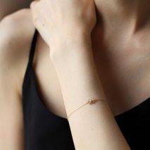 Ribbon Bracelet | K10YG 〈Web限定〉