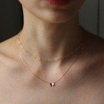 Butterfly Necklace | K10YG〈Web限定〉