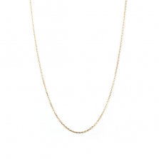 Yellow Gold Chain 70cm   K10YG