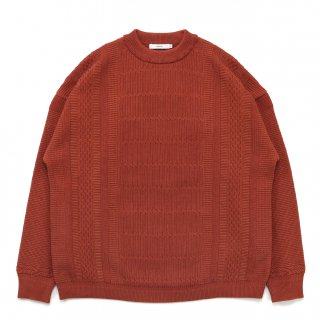 Tsurara Knit / ORANGE