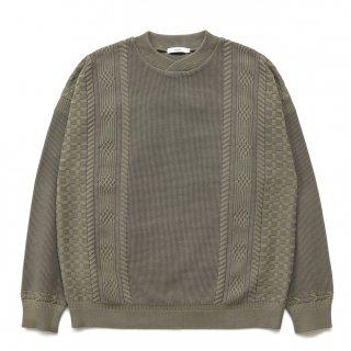 Shingen Knit / KHAKI-BEIGE