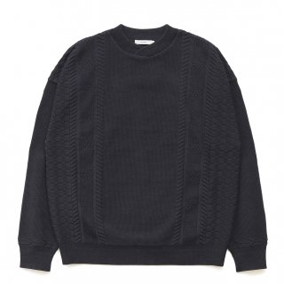 Shingen Knit / BLACK