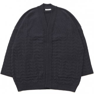 Gunjo Hanten Knit / BLACK