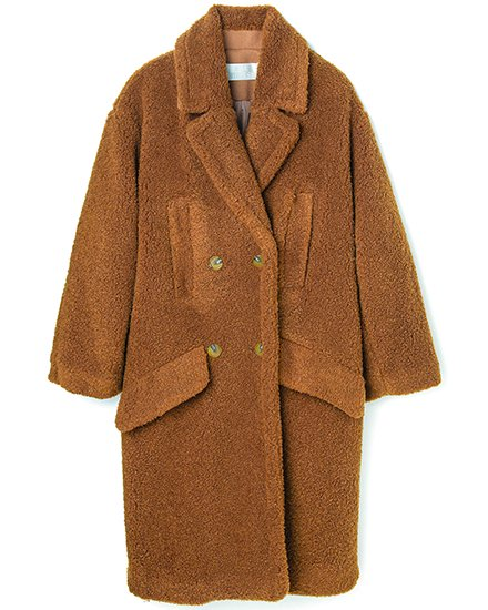 TEDDY BOA COAT