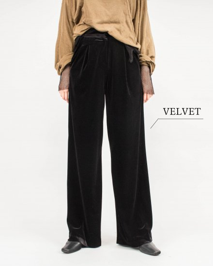 SMOOTH VELOURS PANTS