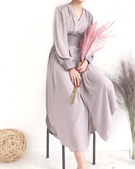 【 NEW 】SIDE SLIT DRESS