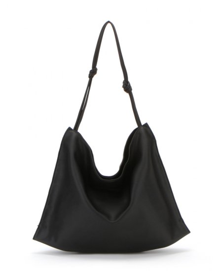 ECO LEATHER TIE TOTE BAG