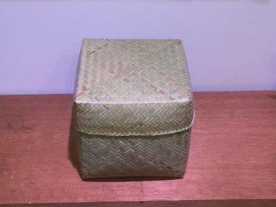 【松野屋】ラオスバンブーBOX正方形LL
