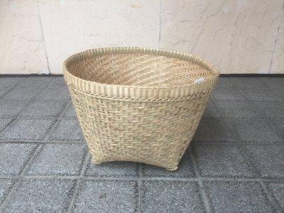 【松野屋】バリバンブー角型バスケットL