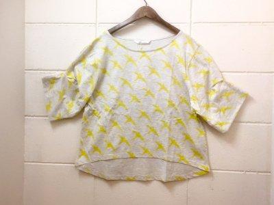 オニオンツリークラフト バルーン袖 ツバメカットソー(オートミール)