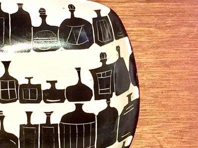 矢島操さんの角鉢(ボトル)