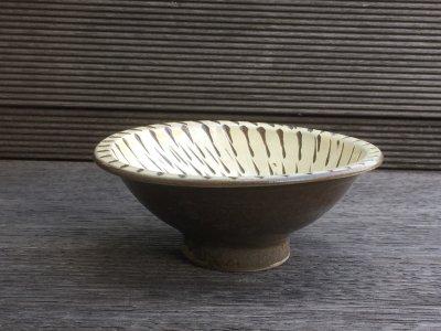 小鹿田焼 内飛び鉋 4寸小鉢(坂本工窯)
