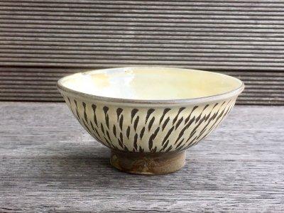 小鹿田焼  飛び鉋 4寸飯碗(坂本工窯)