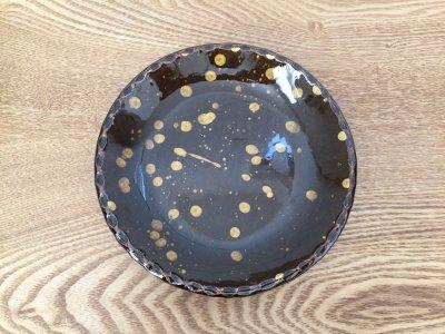 山口和声(三重県)さんのスリップウェア 6寸皿