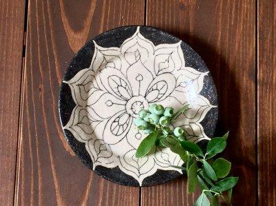 松本伴宏さんの器(信楽)5寸皿