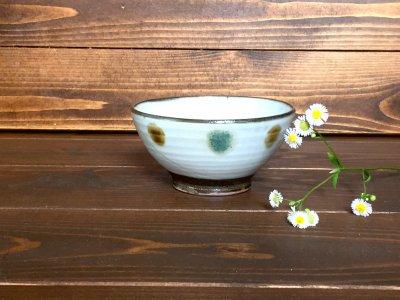 小石原焼き 鬼丸豊喜窯 茶碗(外三彩)