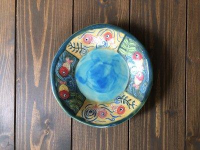 春信工房 金魚の絵皿