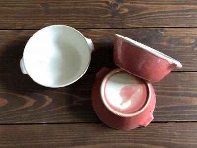 堂本正樹さんの紅秞手付きスープ碗