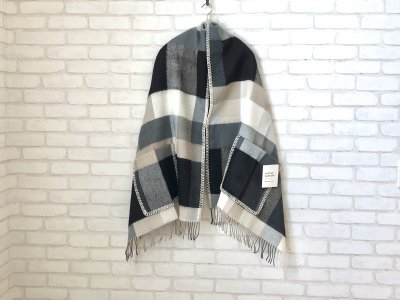 LAPUANKANKURIT(ラプアンカンクリ) PALAPELI pocketshawl black