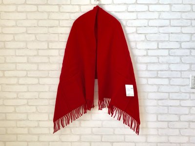 LAPUANKANKURIT(ラプアンカンクリ) UNI PocketShawl RED