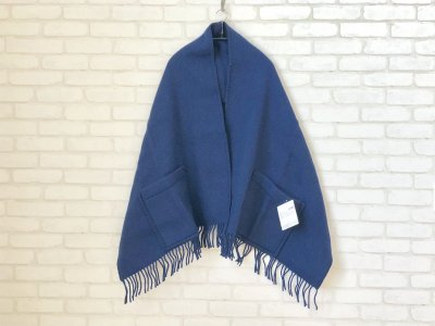 LAPUANKANKURIT(ラプアンカンクリ) UNI PocketShawl blueberry